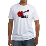 Guitar - Brad Fitted T-Shirt