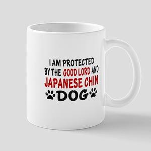 Protected By Japanese chin Mug