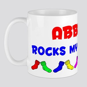 Abbigail Rocks Socks (A) Mug