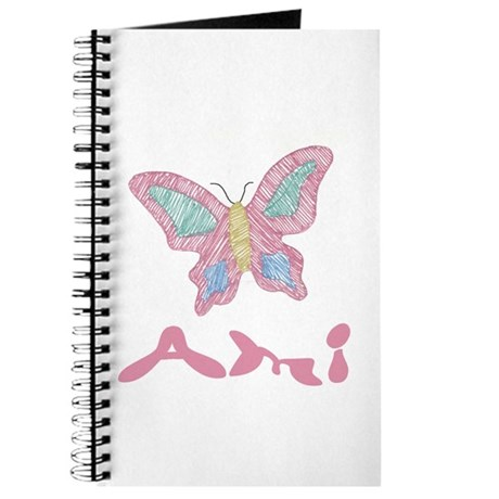 Pink Butterfly Ami Journal