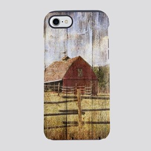 western country red barn iPhone 8/7 Tough Case
