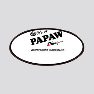 PAPAW thing, you wouldn't understand Patch