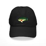 Mozambique Tilapia Baseball Black Cap With Patch