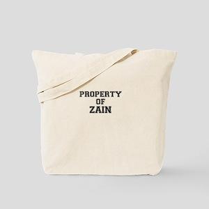 Property of ZAIN Tote Bag