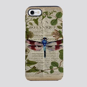 french botanical leaf dragon iPhone 8/7 Tough Case