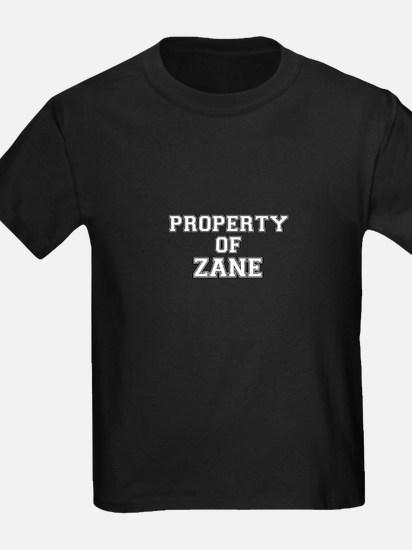 Property of ZANE T-Shirt
