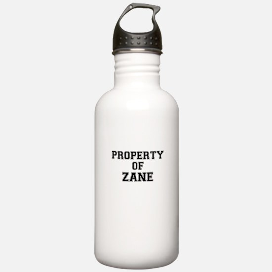 Property of ZANE Sports Water Bottle