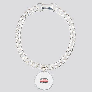 Protected By Norwegian E Charm Bracelet, One Charm