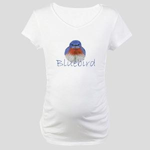 bluebird design Maternity T-Shirt
