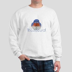bluebird design Sweatshirt