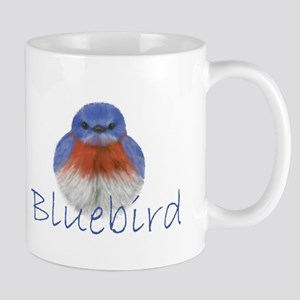 bluebird design Mug