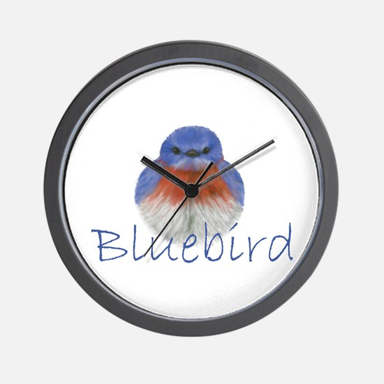 bluebird design Wall Clock