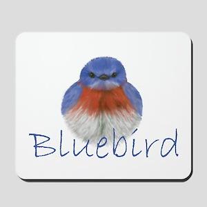 bluebird design Mousepad