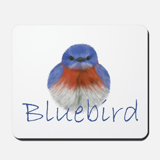 bluebird design Mousepad
