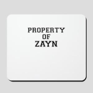 Property of ZAYN Mousepad