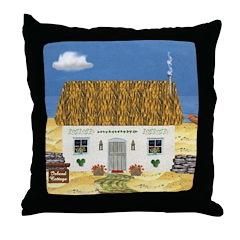 Island Cottage Throw Pillow