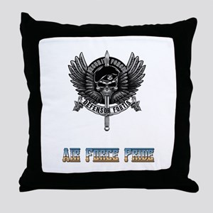 Defensor Fortis Security Forces Air Throw Pillow