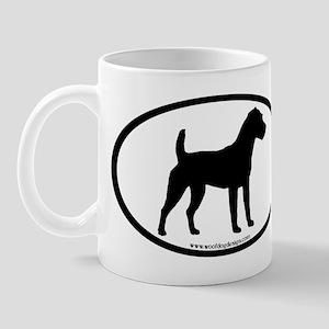 Jack Russell Oval Mug