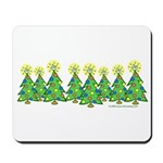 ILY Christmas Forest Mousepad