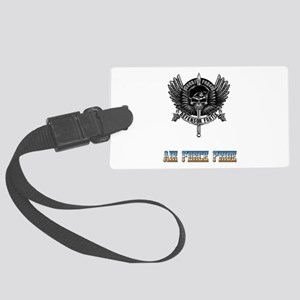 Defensor Fortis Security Forces Large Luggage Tag