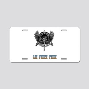 Defensor Fortis Security F Aluminum License Plate