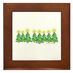 ILY Christmas Forest Framed Tile