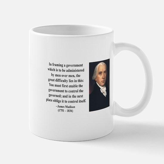 James Madison 4 Mug