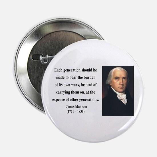 "James Madison 5 2.25"" Button"