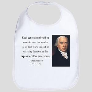 James Madison 5 Bib