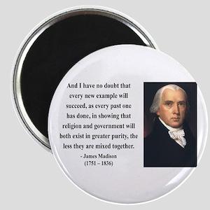 James Madison 7 Magnet