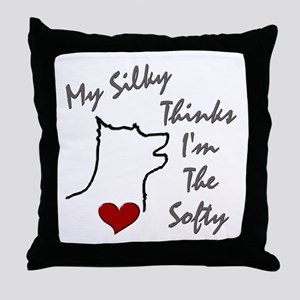 Silky Terrier Throw Pillow