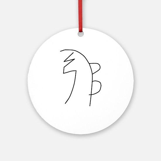 Se-he-ki (MRA) Ornament (Round)