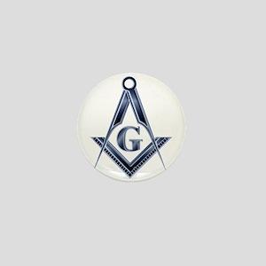 The Blue Masonic Lodge Mini Button