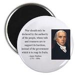 James Madison 10 Magnet