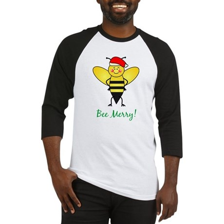 Bee Merry Baseball Jersey