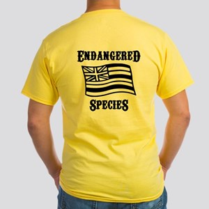 Endagered Species Yellow T-Shirt