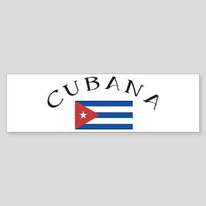 CUBANA Bumper Sticker