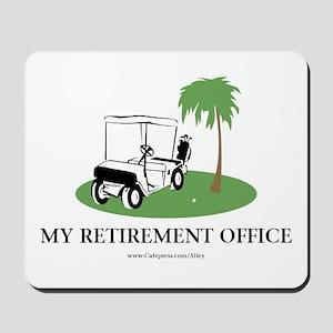 Golf Retirement Mousepad