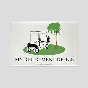 Golf Retirement Rectangle Magnet (10 pack)