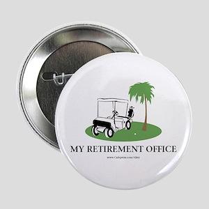"Golf Retirement 2.25"" Button"
