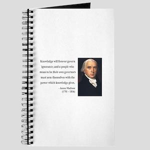 James Madison 12 Journal
