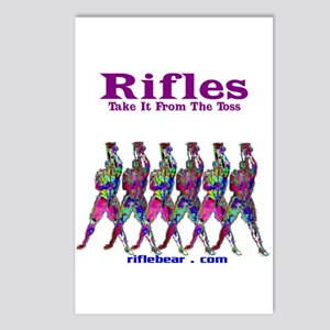 Rifles....Take it from the toss Postcards (Package