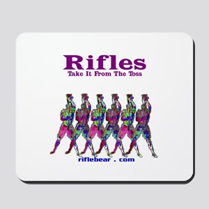 Rifles....Take it from the toss Mousepad