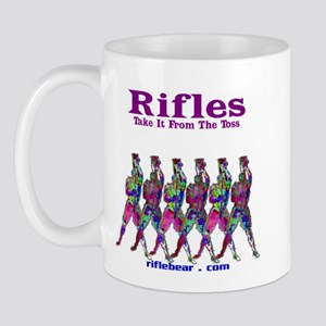 Rifles....Take it from the toss Mug