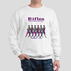 Rifles....Take it from the toss Sweatshirt