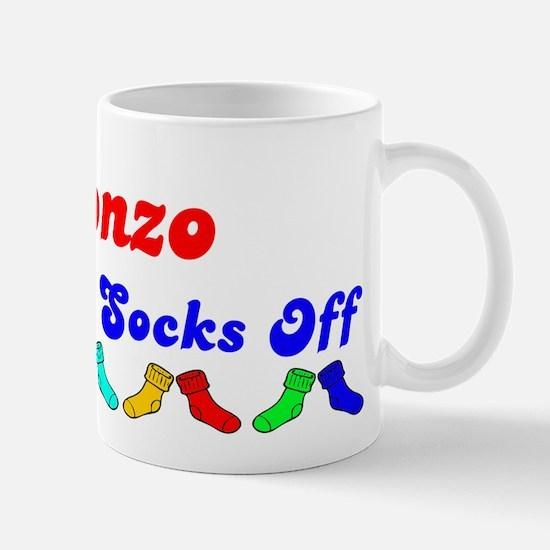 Alonzo Rocks Socks (B) Mug