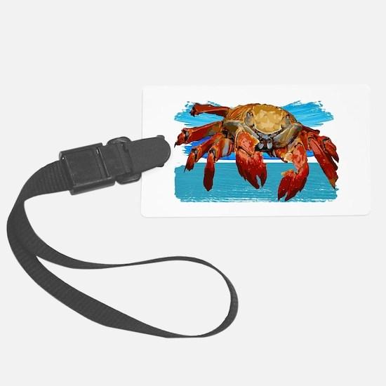 Cute King crab Luggage Tag
