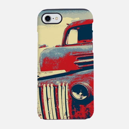 retro farm old truck iPhone 8/7 Tough Case