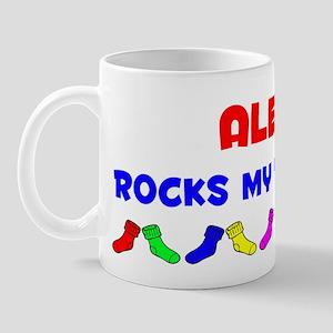 Alexis Rocks Socks (A) Mug
