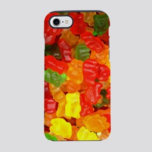 rainbow candy gummy bear iPhone 8/7 Tough Case